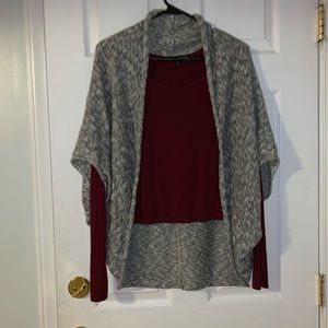 Charlotte Russe short sleeve cardigan. Size S.